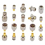 SMA to N BNC TNC F Type Connectors Kits N to SMA BNC to SMA TNC to SMA RF Adapter 20 Type