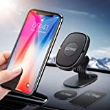 GETIHU Phone Holder for Car, 360° Dashboard Car Phone Mount, Universal Magnetic Cell Phone Car Holder GPS, Compatible with iPhone XS X 8 7 6 6s plus