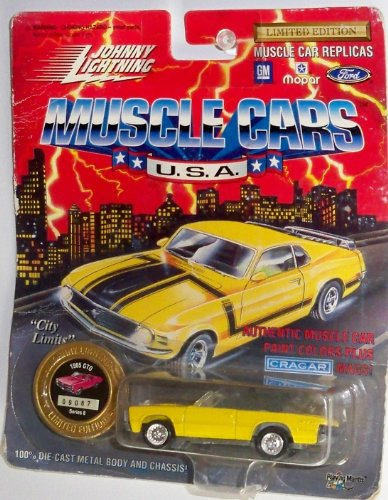 Johnny Lightning Muscle Cars U.S.A. 1965 GTO (Yellow) - 1