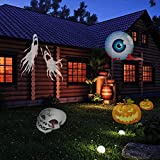 E-COM Christmas Projector Lamp 12 Replaceable Lens 12 Colorful Patterns Night Lamp Halloween Birthday Wedding Decoration Lamp Auto Moving Plug-in Fairy Light