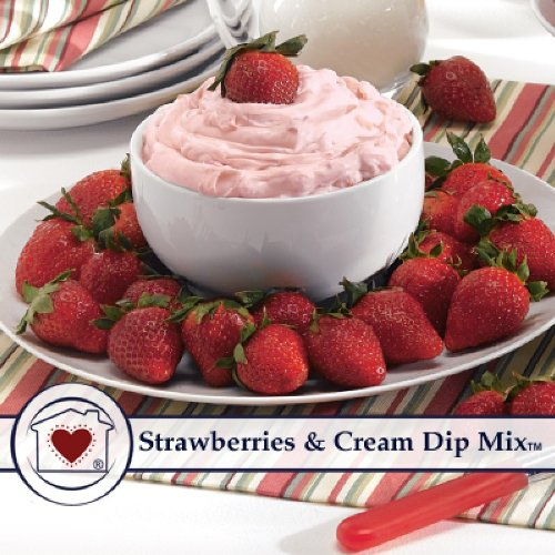 Country Home Creations Strawberries Cream Dip Mix