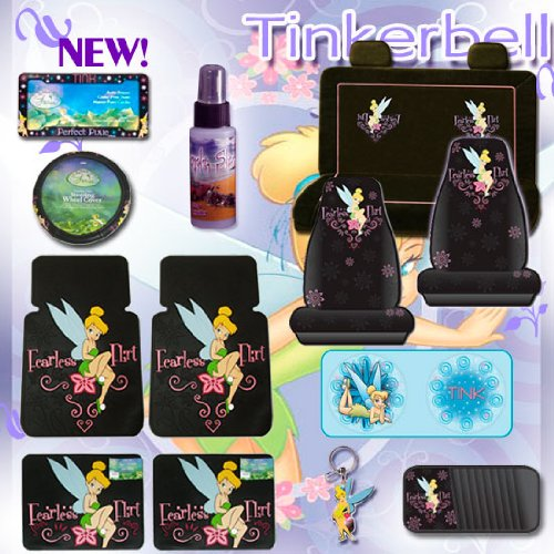 Remarkable Seat Covers Accessories New 15 Pcs Complete Tinkerbell Pabps2019 Chair Design Images Pabps2019Com