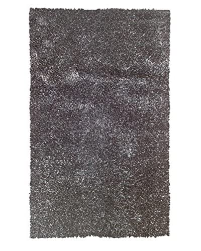 """The Rug Market Coral Rug, Black, 4' 7"""" x 7' 7"""""""