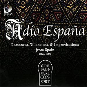 The Baltimore Consort -  Adio Espana  (Dorian DSL-90901)