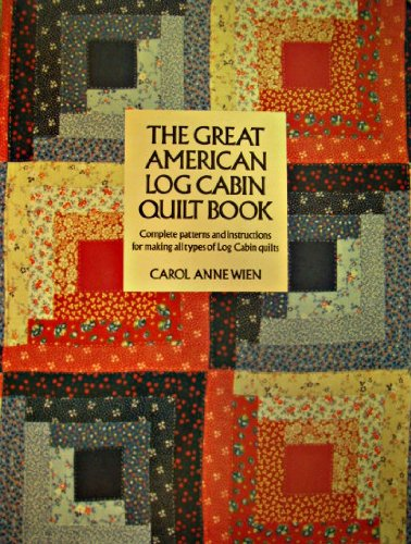 Log Cabin Quilt Book Carol Anne Wien Used Books From