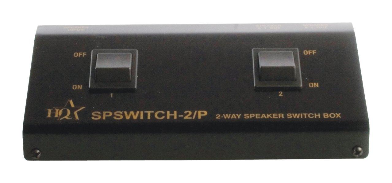 SPSWITCH-2P Conmutador Altavoces 2 Entradas-1 Salidas HQ  Electrónica Comentarios y más información