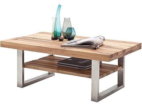 """Couchtisch Sofatisch Wohnzimmertisch Holztisch Massivholz Tisch """"Castello II"""""""
