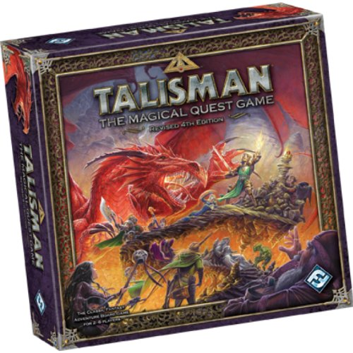 61b1sZzDoeL Cheap  Talisman: The Magical Quest Game, 4th edition
