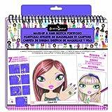 Fashion Angels Make Up and Hair Design Portfolio Sketchbook