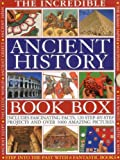 img - for THE INCREDIBLE ANCIENT HISTORY BOOK BOX: Step into the past with 8 fantastic books: Ancient Greece, The Inca World, Mesopotamia, The Roman Empire, ... The Aztec & Maya Worlds, The Celtic Worlds book / textbook / text book