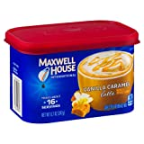 Maxwell House International Cafe Flavored Instant Coffee, Vanilla Caramel Latte, 8.7 Ounce Canister (Color: Multicolor, Tamaño: 8.7 Ounce (Pack of 1))