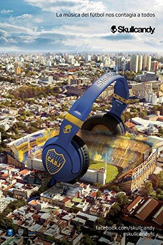 Skullcandy Hesh 2 W/Mic 1 On-Ear Headphones Football Series-Boca Juniors Cabj Sghsfy-143