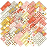 Moda 2wenty-Thr3e Charm Pack, Set of 42 5-inch (12.7cm) Precut Cotton Fabric Squares