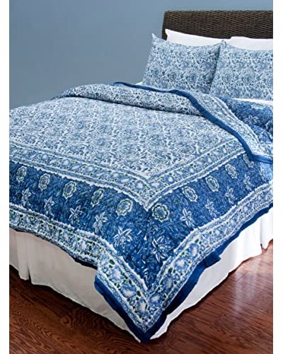Rizzy Home Blue Paulina Quilt