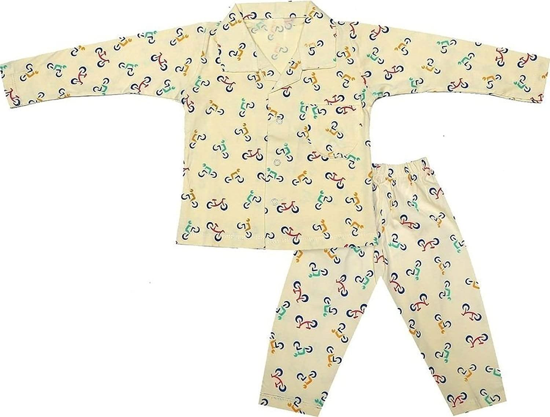Deala on Krystle Boys' Cotton Night Suit Set