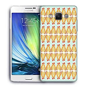 Snoogg Abstract Light Blue Designer Protective Phone Back Case Cover For Samsung Galaxy ON5