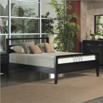 Hot Sale Modus Furniture California King Nevis Platform Bed, Espresso