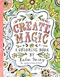 img - for Create Magic: A Coloring Book by Katie Daisy for Adults and Kids at Heart book / textbook / text book