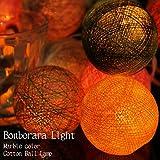 コットン ボール ランプ ボンボラ ライト 間接 照明 ボール 型 ランプ パステルカラー ハンドメイド おしゃれ インテリア照明