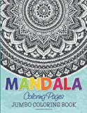 Mandala Coloring Pages: Jumbo Coloring Book