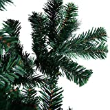 NEW 7Ft Artificial PVC Christmas Tree W/Stand Holiday Season Indoor Outdoor Green