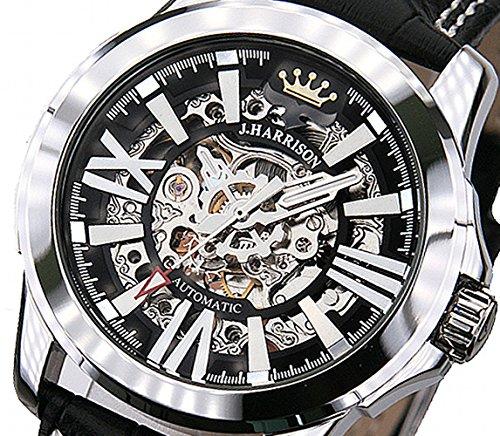 ジョンハリソン JOHN HARRISON 自動巻き メンズ 腕時計 JH-036SB スケルトン[並行輸入品]