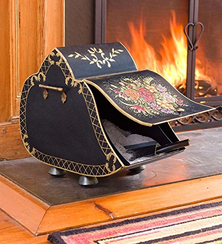 Sloping Carriage Coal Scuttle With Shovel picture