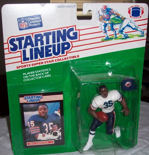 Starting Lineup 1989 NFL Edition NEAL ANDERSON