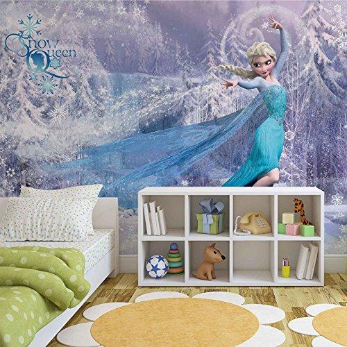 Disney eisk nigin elsa forwall fototapete tapete for Elsa zimmer deko