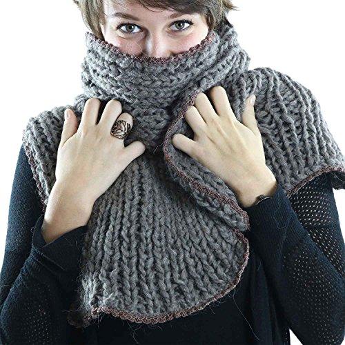 ilse-van-der-mersch-gorgeous-scarf-shawl-wrap-stole-pashmina-handmade-in-switzerland-brown-knitwear-