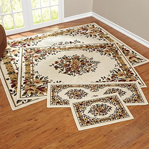 Brylanehome 4-Pc. Rose Rug Set front-625127