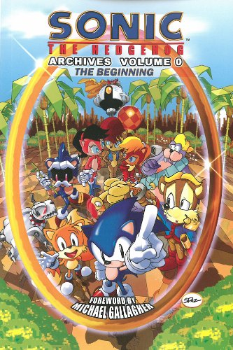 Sonic The Hedgehog Comic Book