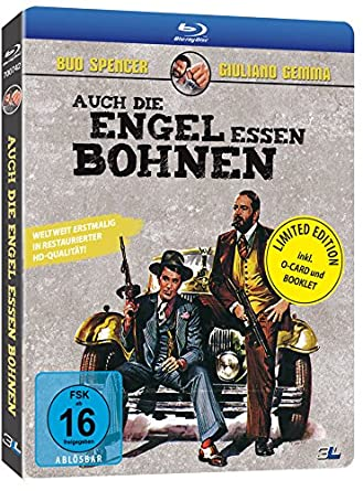 Auch die Engel essen Bohnen - O-Card Version (Exklusiv bei Amazon.de) [Blu-ray] [Limited Edition]