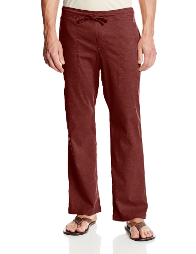 prAna Living Men's 30-Inch Inseam Sutra Pant, Raisin, XX-Large