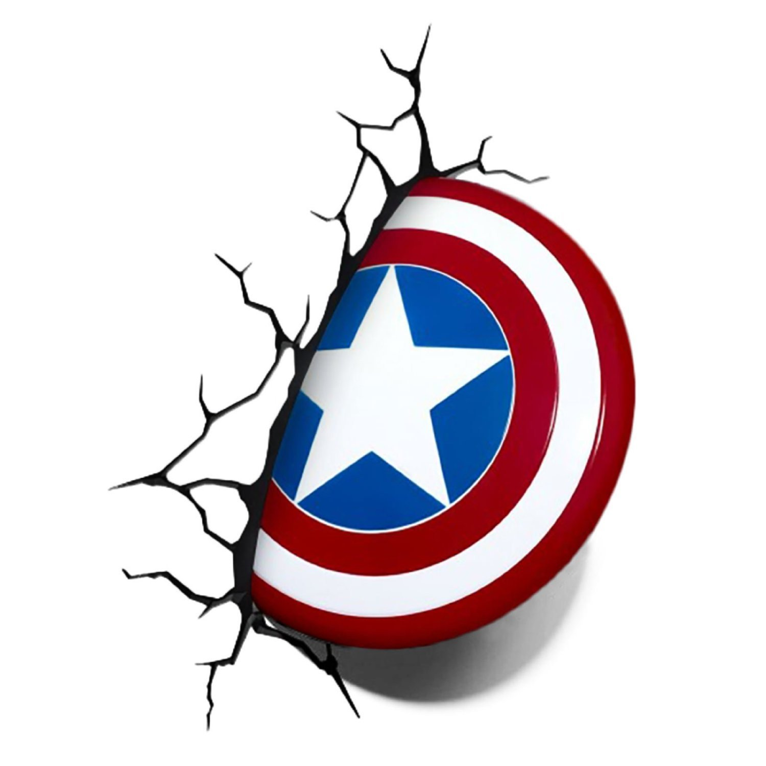 Captain America Shield 3D Deco Light online kaufen