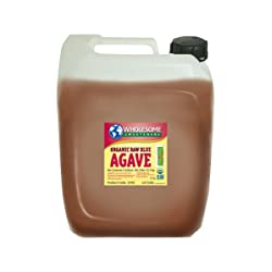 Wholesome Sweeteners Organic Blue Agave Raw 5-Gallon Jug