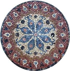 Marble Mosaic Stone Art Tile Wall Medallion Floor