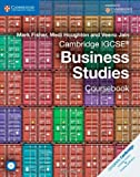 Cambridge IGCSE® Business Studies Coursebook with CD-ROM (Cambridge International Examinations)