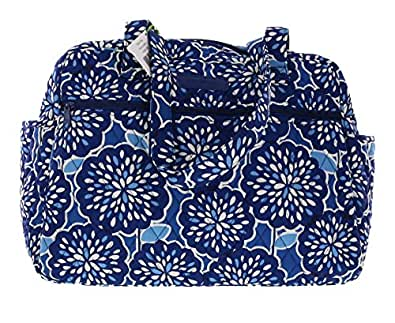 vera bradley baby diaper bag handbag satchel tote purse in petal splash shoes. Black Bedroom Furniture Sets. Home Design Ideas