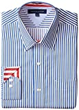 Tommy Hilfiger Mens Slim Fit Red White Stripe