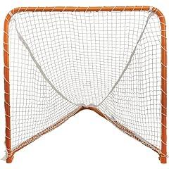 STX Lacrosse Folding Backyard Lacrosse Goal, Orange, 4 x 4-Feet by STX