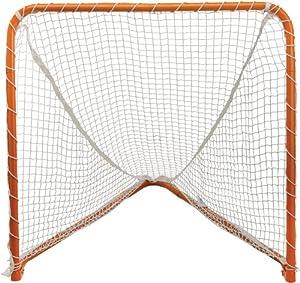 STX Lacrosse Folding Backyard Lacrosse Goal, Orange, 6 x 6-Feet by STX