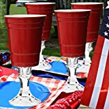 4 Rednek Funny 16oz Party Cups Carson Home Accents Wine Glasses Redneck Drinkware Novelty