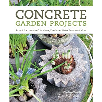 Set A Shopping Price Drop Alert For Concrete Garden Projects: Easy & Inexpensive Containers, Furniture, Water Features & More