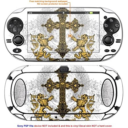 Decalrus Matte Protective Decal Skin Sticker for Sony PlayStation PSP Vita Handheld Game Console case cover Mat_PSPvita-172