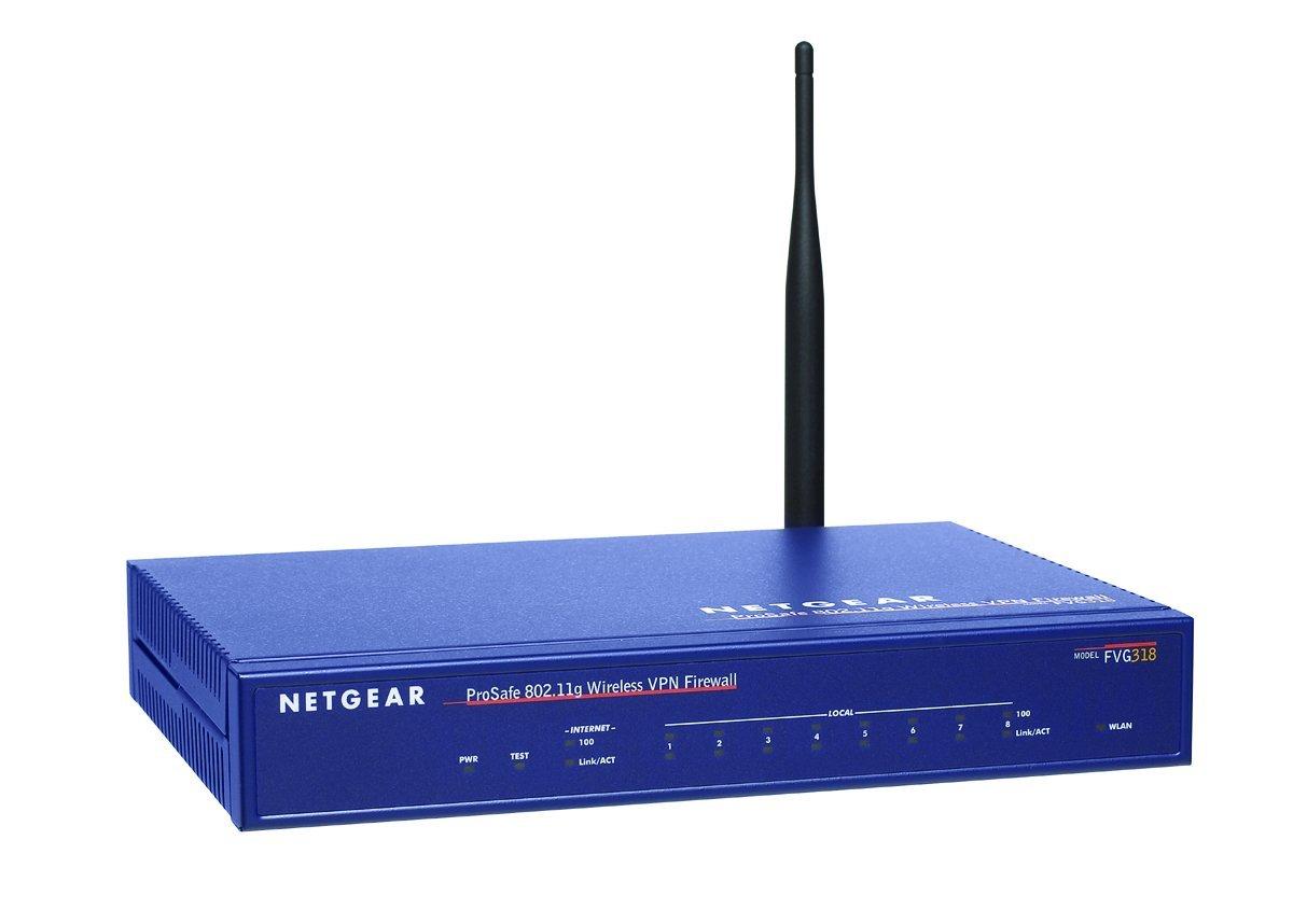 Firewall hardware NETGEAR PROSAFE FVG318 BLEU