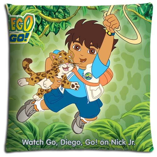 Awardwiki go diego go pillowcase for Go diego go bedding