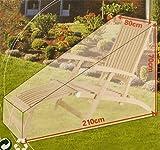 Schutzhülle für Gartenliege Liege Sonnenliege Plane Abdeckung Liegesofa