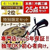 三線 沖縄三線 初心者向けセット【フェア限定品】 ※3大特典付き!