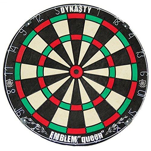 DYNASTY EMBLEM Queen (Queen emblem) Type-K board hard bristle dart board (japan import) by Dynasty